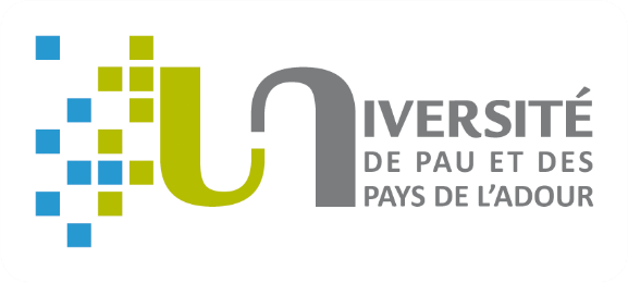 Université de Pau et des Pays de l'Adour logo