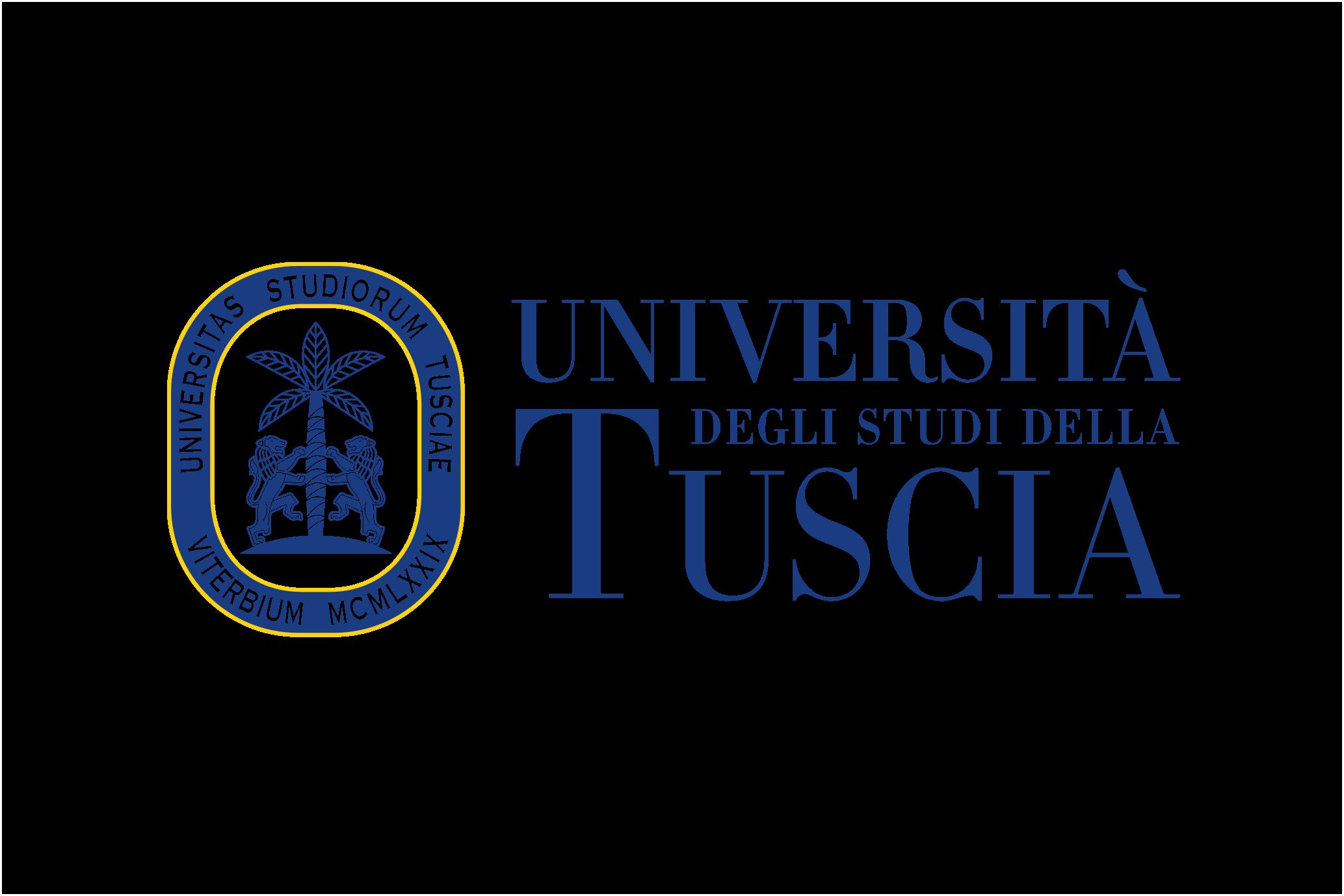 Università degli Studi della Tuscia logo